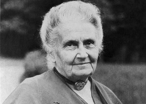 Portrait de Maria Montessori