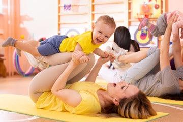 Atelier gym enfants professionnels