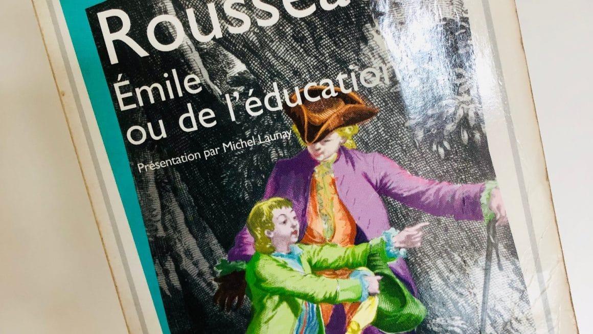Livre Emile ou de l'éducation Rousseau